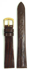 Accutron Watch Band Teju Lizard BROWN