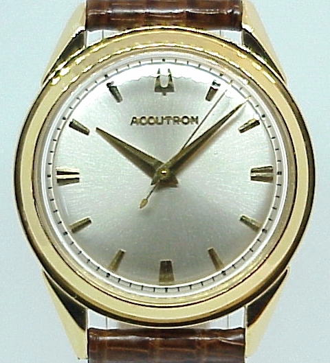 18K Yellow Gold 214 Accutron Restoration