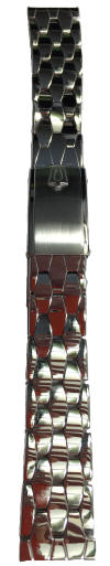 Bulova Accutron Coffin Link Bracelet Restored
