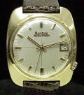 14K Gold Pillow Case Accutron 2181 Repaired