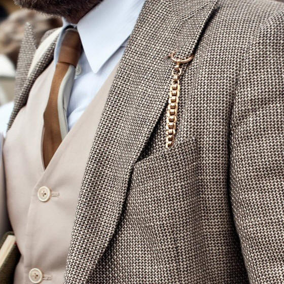 Pocket Watch Chain, How to Wear a Short Pocket Watch Chain