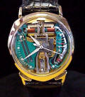Accutron Spaceview Alpha Solid Gold Repaired