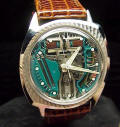 Stainless Steel Asymmetric Accutron Spaceview 214 Repaired