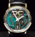 Classic 14K Gold Accutron Spaceview Repaired