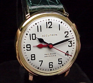 Bulova Accutron Railroad Double Hour 218 Model - Accutron Repair