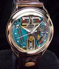 18K Solid Gold Accutron Spaceview 214 Repaired